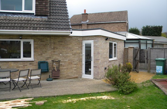 Part Two Storey, Part Single Storey Extension in Garforth, Leeds 0102