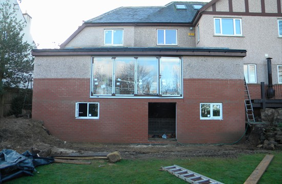 Part Two Storey, Part Single Stroey Extension, Bramhope, Leeds 0134