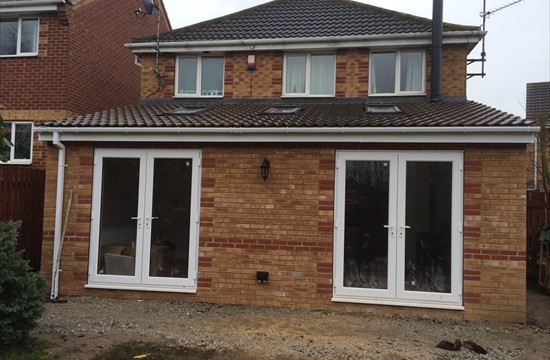 Single Storey Extension and Conversion of Garage into Habitable Space - Morley, Leeds - 0044