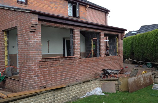 Two Storey Side, Single Storey Rear Extension, Colton, Leeds - 00032